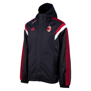 [Order] 14-15 AC Milan (ACM) Training All Weather Jacket - Black