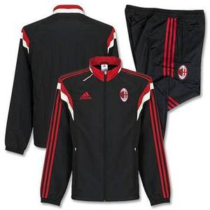 [Order] 14-15 AC Milan Training Presentation Suit - Black