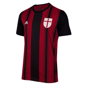[Order] 14-15 AC Milan Home Inspire T Shirt - Victory Red/Black
