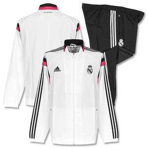 [Order] 14-15 Real Madrid Training Presentation Suit - White/Black
