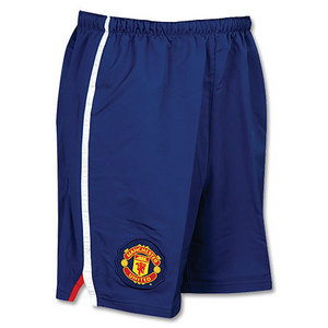 08-09 Manchester United Away/3rd Player Issue Shorts