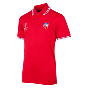 [Order] 14-15 AT Madrid UCL Tipped Polo - Red/White