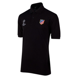 [Order] 14-15 AT Madrid UCL Embroidered Polo - Black