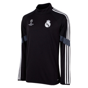 [Order] 14-15 Real Madrid UCL(UEFA Champions League/EU) Training Top - Black