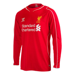 [Order] 14-15 Liverpool(LFC) Boys UCL (Champions League) Home L/S - KIDS