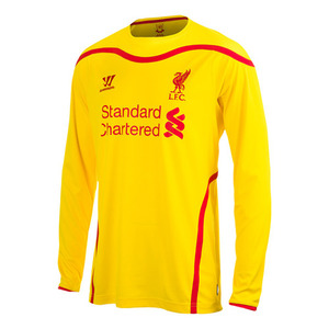 [해외][Order] 14-15 Liverpool(LFC) Boys UCL (Champions League) Away L/S - KIDS