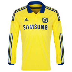 [해외][Order] 14-15 Chelsea Boys UCL (Champions League) Away L/S - KIDS