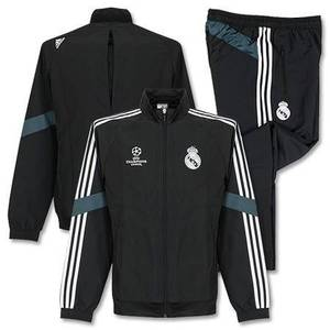[Order] 14-15 Real Madrid UCL(UEFA Champions League/EU) Training Presentation Suit - Black