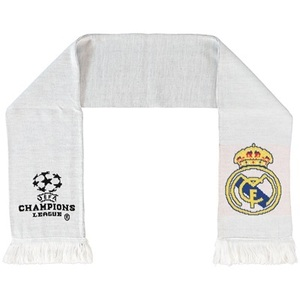 [Order] 14-15 Real Madrid UCL (UEFA Champions League) League Scarf - White