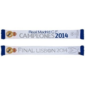 [Order] 14-15 Real Madrid UCL (UEFA Champions League) Jacquard Scarf