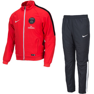 14-15 Paris Saint Germain(PSG) Sideline Woven Warm Up Suit