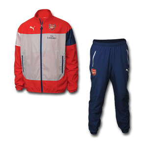 [해외][Order] 14-15 Arsenal Leisure Track Suit Red
