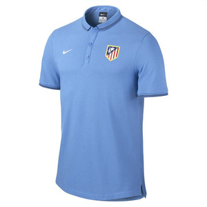 [해외][Order] 14-15 AT Madrid Authentic Grand Slam Polo Shirt - Blue