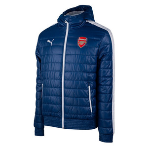 [해외][Order] 14-15 Arsenal Training Padded Jackt - Estate Blue
