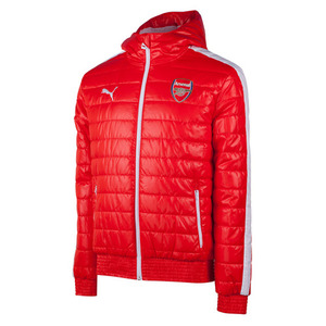 [해외][Order] 14-15 Arsenal Training Padded Jacket - High Risk Red