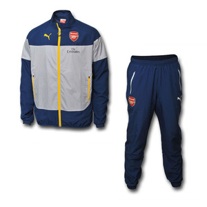 [해외][Order] 14-15 Arsenal Boys Leisure Tracksuit - KIDS