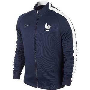 14-15 France (FFF) Boys Authentic N98 Track Jacket (Navy) - KIDS
