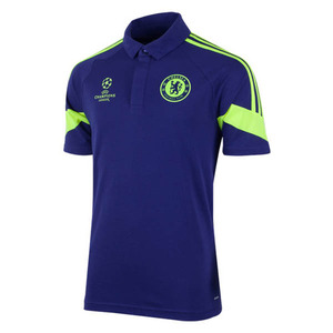 [해외][Order] 14-15 Chelsea(CFC)  UCL (UEFA Champions League) Training Polo - Core Blue