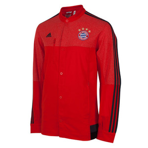 14-15 Bayern Munchen Anthem Jacket - Red