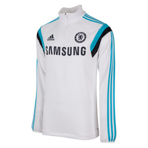 [해외][Order] 14-15 Chelsea(CFC) Boys Chelsea Training Top (White) - KIDS