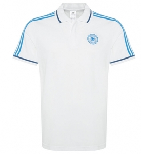 [해외][Order] 14-15 Germany (DFB) Polo Shirt - White / Blue