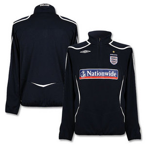 08-09 England Half Zip Fleece Top (Navy)