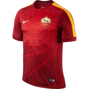 [해외][Order] 14-15 AS Roma Pre-Match Training Jersey - Red
