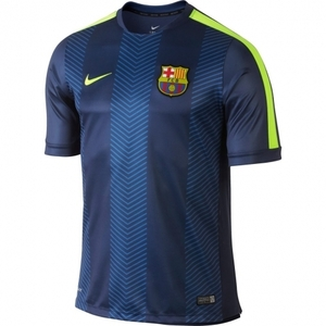 [Order] 14-15 Barcelona  Pre-Match Training Jersey - Blue