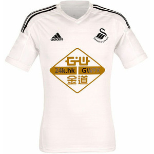 14-15 Swansea City Authetic Home +  4 KI. S. Y + Premier League Patch - 스완지 시티 홈 기성용 저지 (Authentic/Adizero)