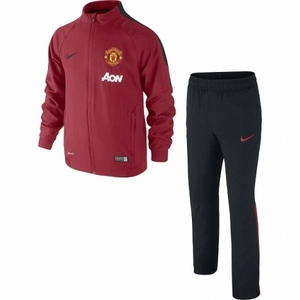 [해외][Order] 14-15 Manchester United Boys Woven Tracksuit (Red) - KIDS