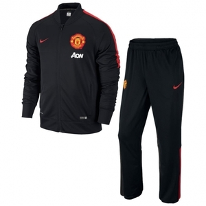 [해외][Order] 14-15 Manchester United Boys Woven Tracksuit (Black) - KIDS
