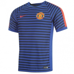 [해외][Order] 14-15 Manchester United Boys Training Jersey (Blue) - KIDS