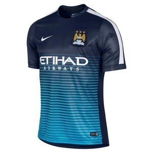 [해외][Order] 14-15 Manchester City Pre-Match Training Shirt - Navy
