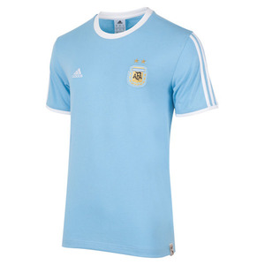 [해외][Order] 15-16Argentina (AFA) Boys Messi T-Shirt (CL Blue) - KIDS