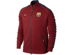 [Order] 14-15 Barcelona Tech Track Jacket - Team Red Heather