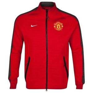 [해외][Order] 14-15 Manchester United Tech Track Jacket - University Red Heather