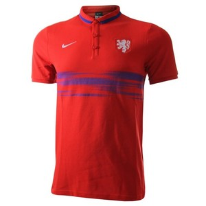[해외][Order] 15-16 Netherlands (Holland/KNVB) Authentic League Polo Shirt - Red