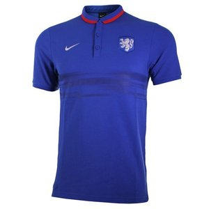 [해외][Order] 15-16 Netherlands (Holland/KNVB) Authentic League Polo Shirt - Blue