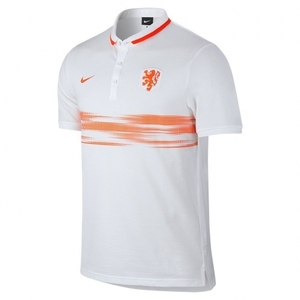 [해외][Order] 15-16 Netherlands (Holland/KNVB) Authentic League Polo Shirt - White