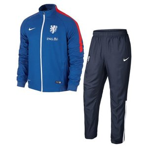 [해외][Order] 15-16 Netherlands (Holland/KNVB) Woven Tracksuit - Blue