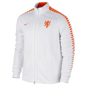 [해외][Order] 15-16 Netherlands (Holland/KNVB) Authentic N98 Track Jacket - White