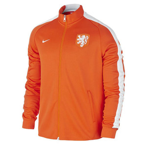 [해외][Order] 15-16 Netherlands (Holland/KNVB) Authentic N98 Track Jacket - Orange