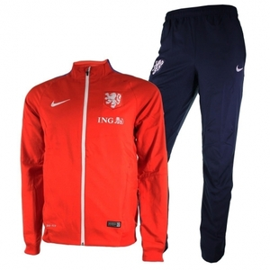 [해외][Order] 15-16 Netherlands (Holland/KNVB) Woven Tracksuit - Red
