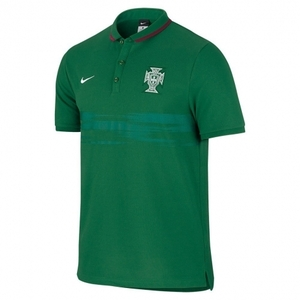 [해외][Order] 15-16 Portugal(FPF) Authentic League Polo Shirt - Green