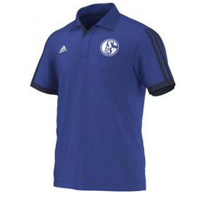 [Order] 14-15 Schalke 04 Polo Shirt - Blue