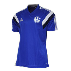 [Order] 14-15 Schalke 04 Training Shirt - Blue