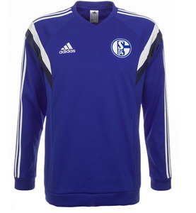 [Order] 14-15 Schalke 04 Sweat Top - Blue