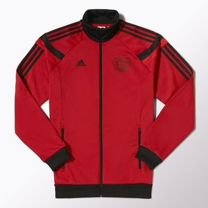 [Order] 14-15 Bayer Leverkusen Anthem Jacket - Red