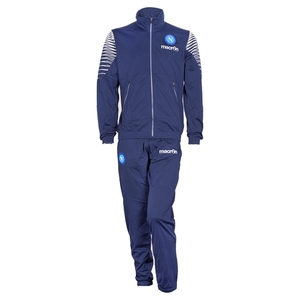 [Order] 14-15 Napoli Official Player Tracksuit - Navy