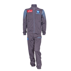 [Order] 14-15 Napoli Official Player Tracksuit - Dark Grey